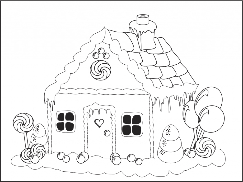 Free Gingerbread House Printables