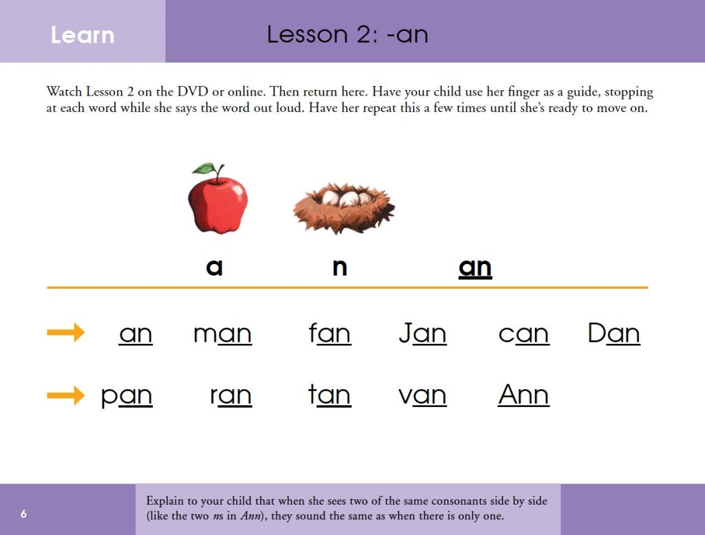 Short A Phonics Practice Printables For Word Families At