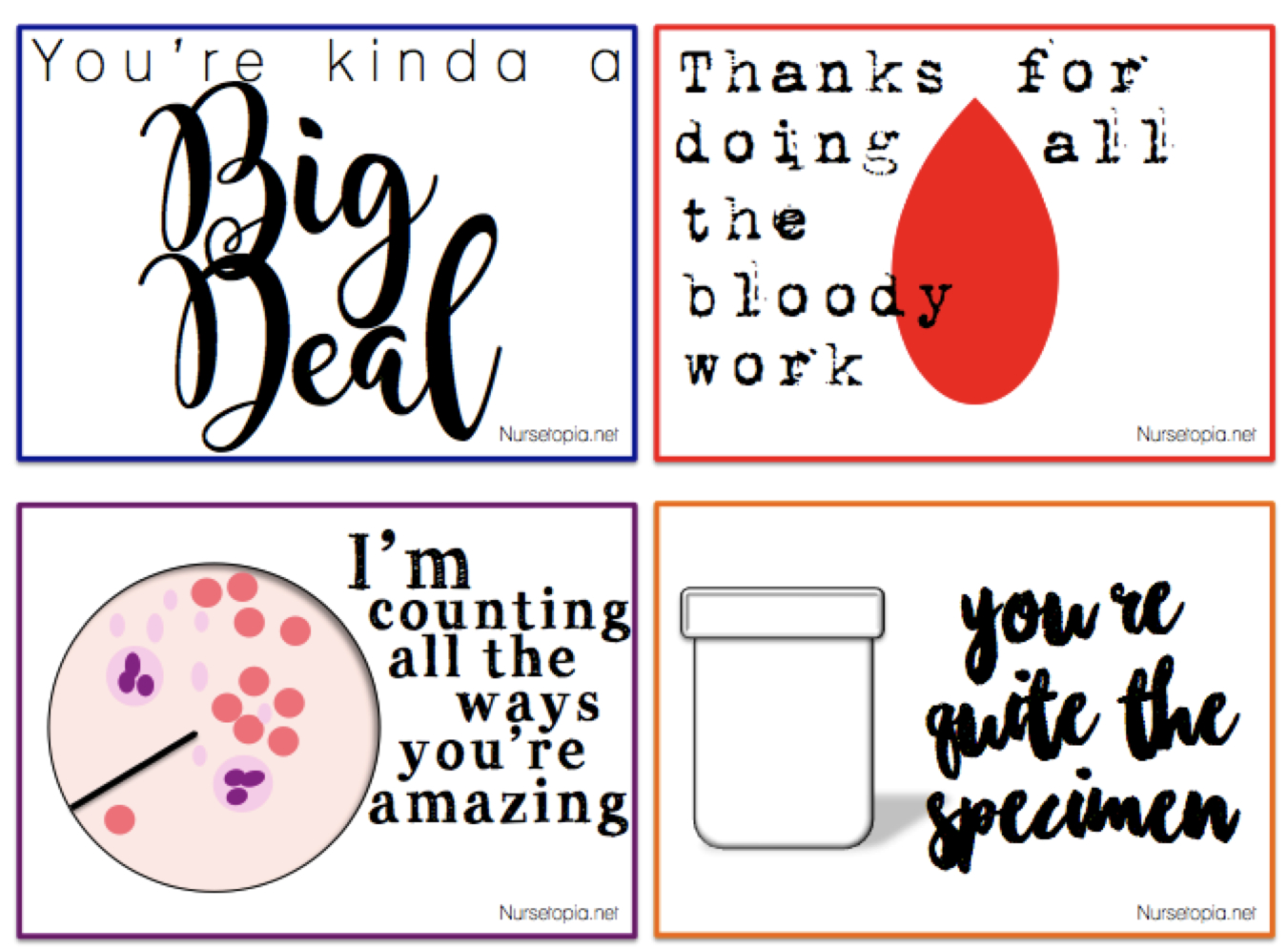 Nurses Week Cards Free Printable