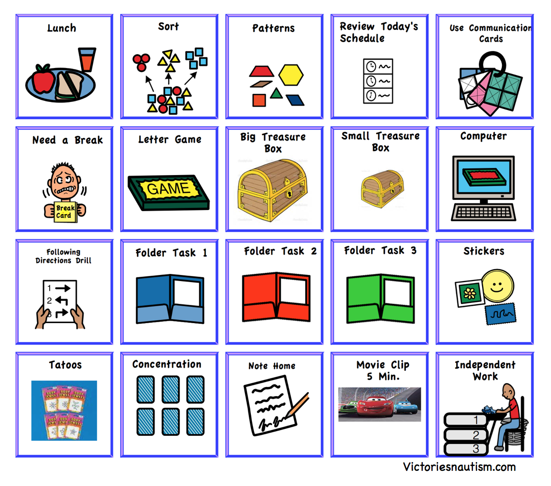 Free Printable Visual Schedule For Classroom