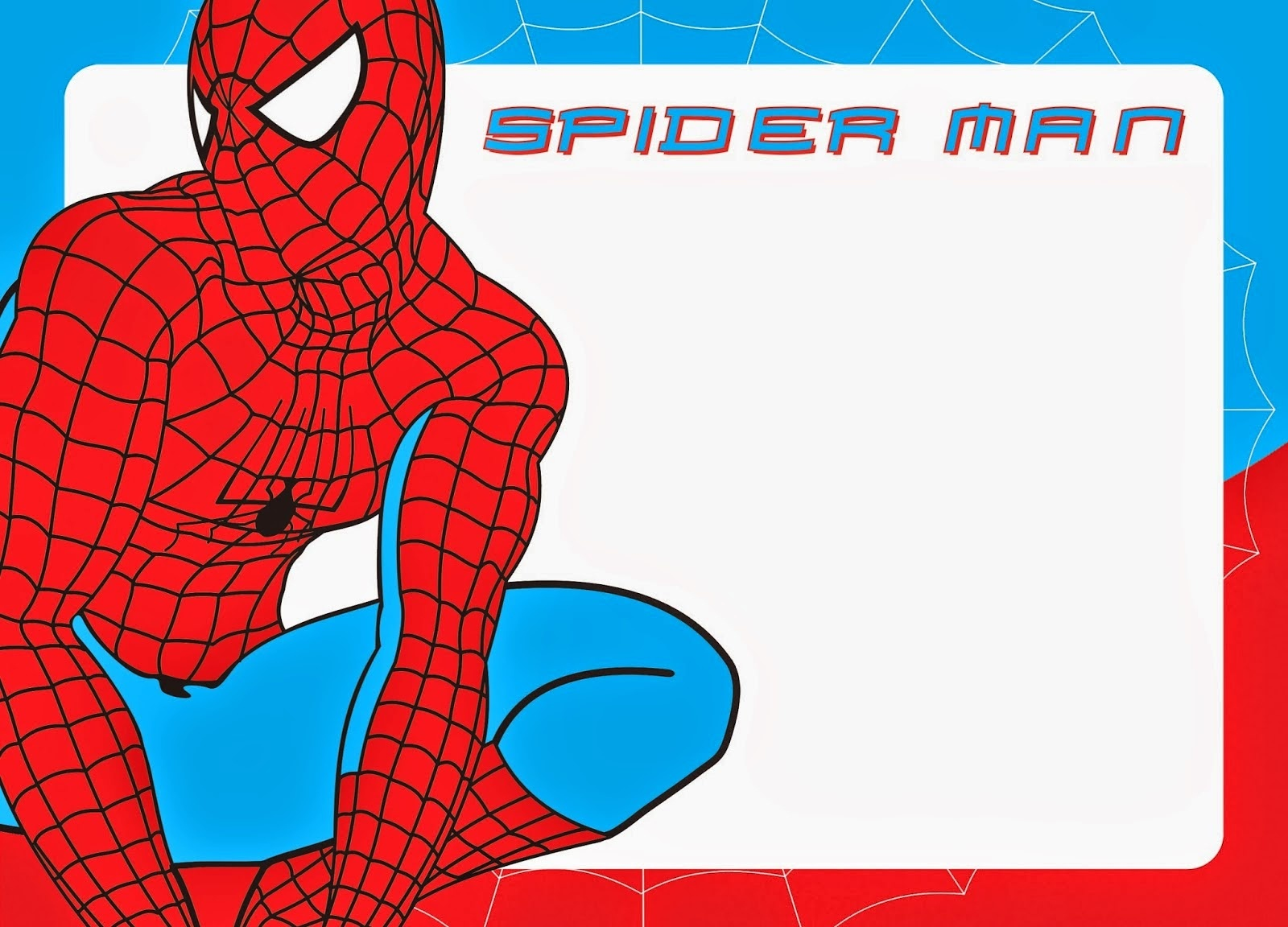 Free Printable Spiderman Pictures