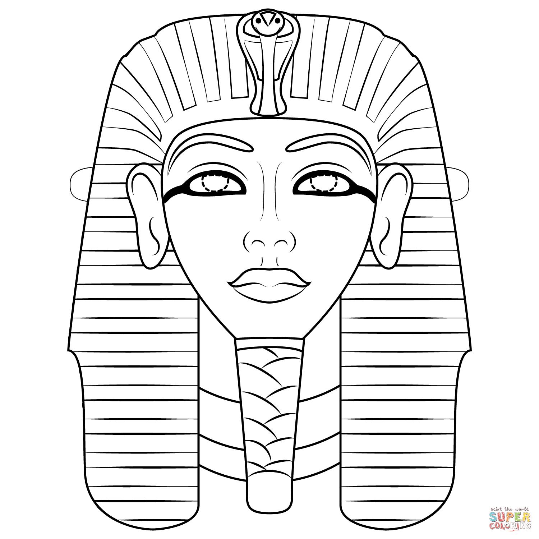 Free Printable Egyptian Masks