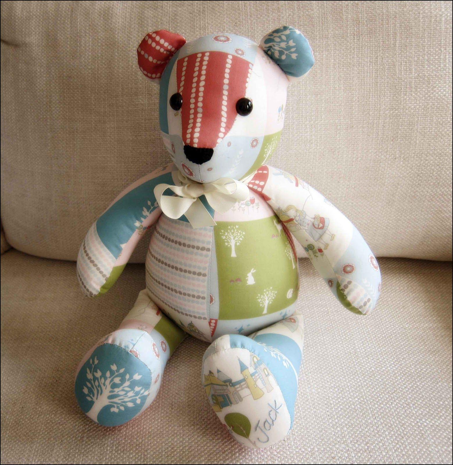 Memory Bear Sewing Pattern Free Printable