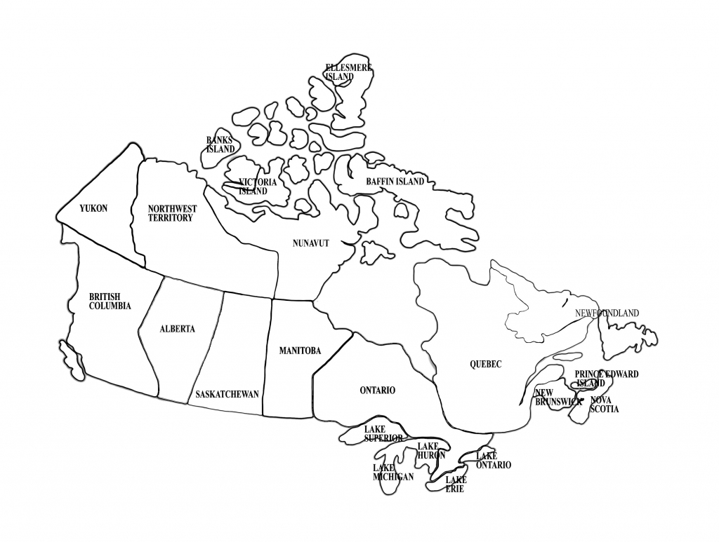 Canada And Provinces Printable Blank Maps Royalty Free