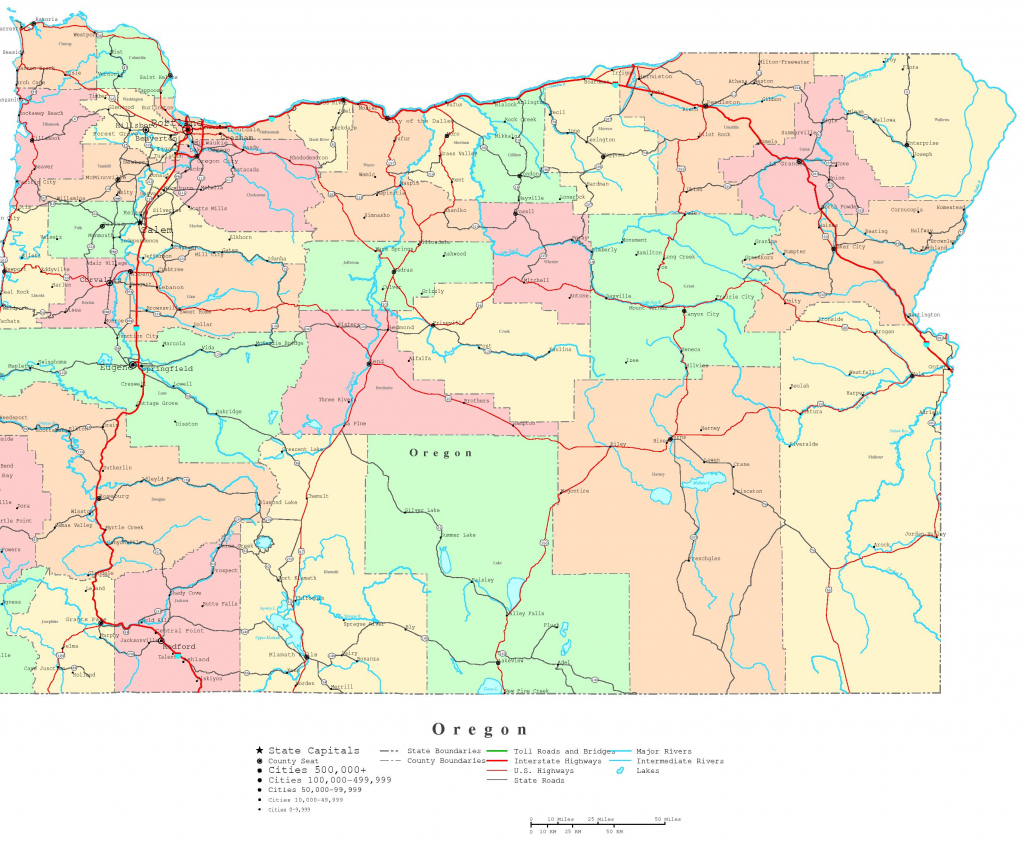 The Oregon Trail On A Map And Travel Information
