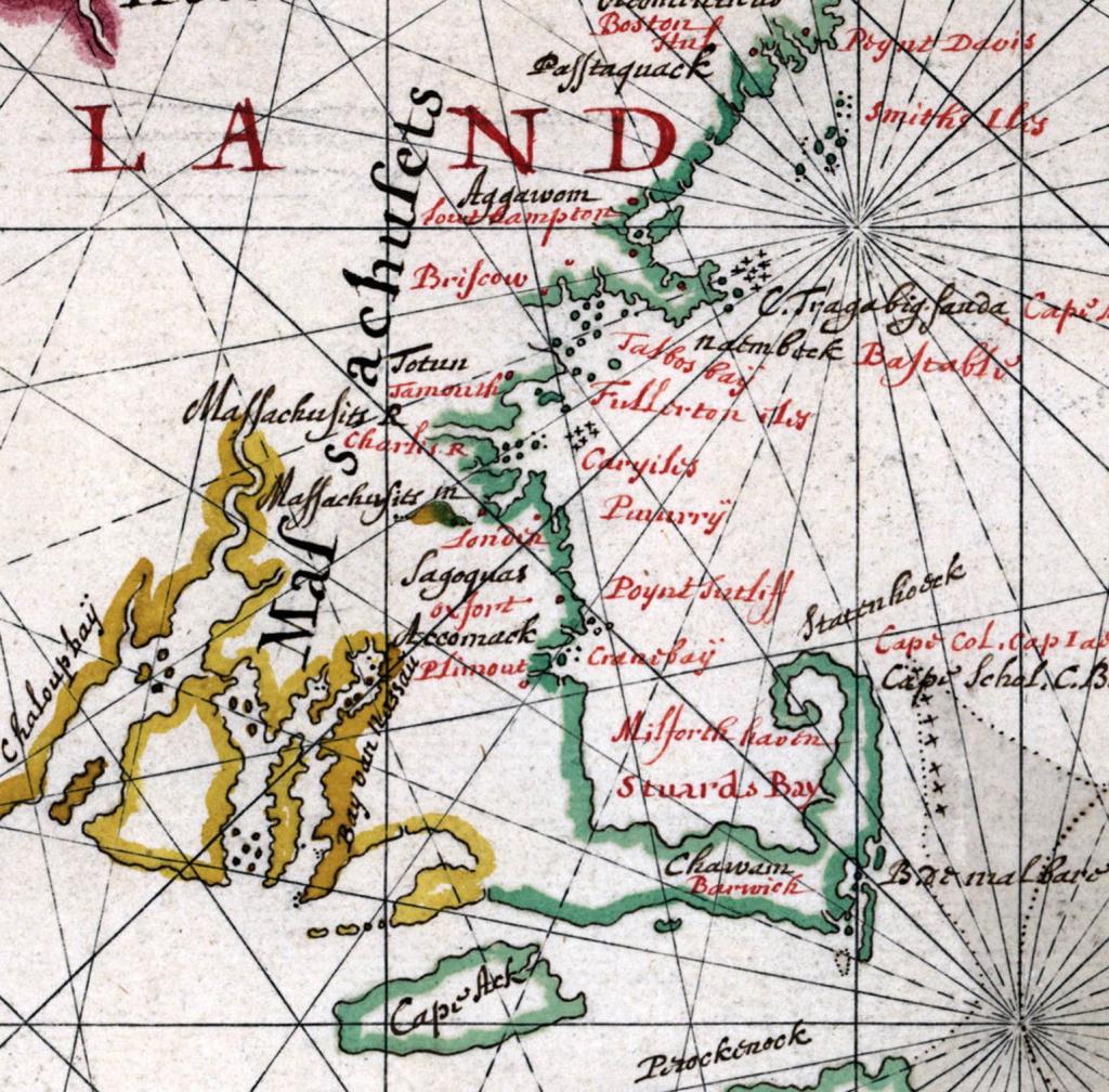 Printable Map Of New England States