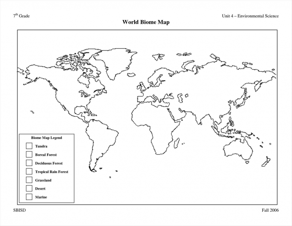 Free Printable World Map Worksheets