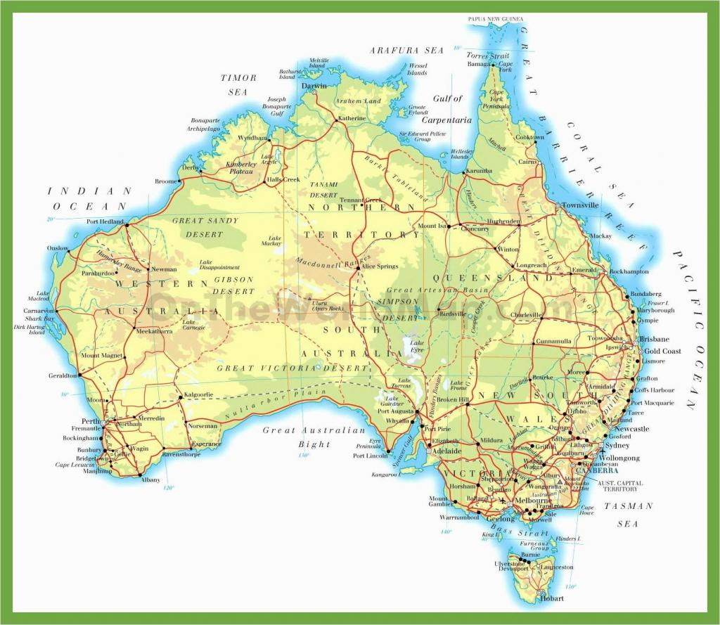 Usa Map Mountains And Rivers Printable Us Physical The