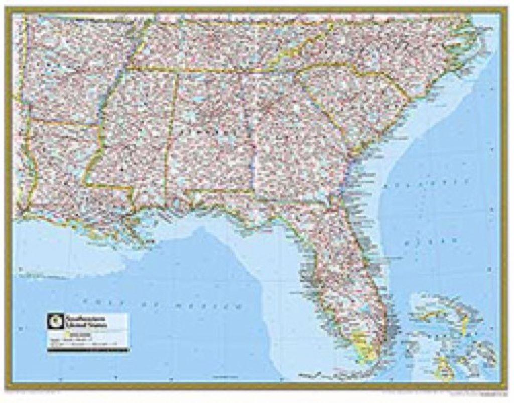 Map Southeast United States Worksheet