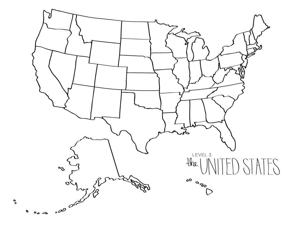Blank Us Map