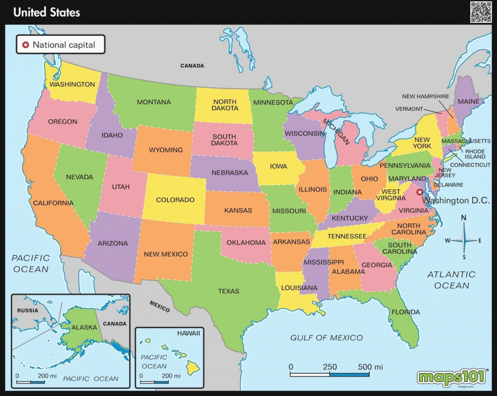 Printable Map Midwest United States
