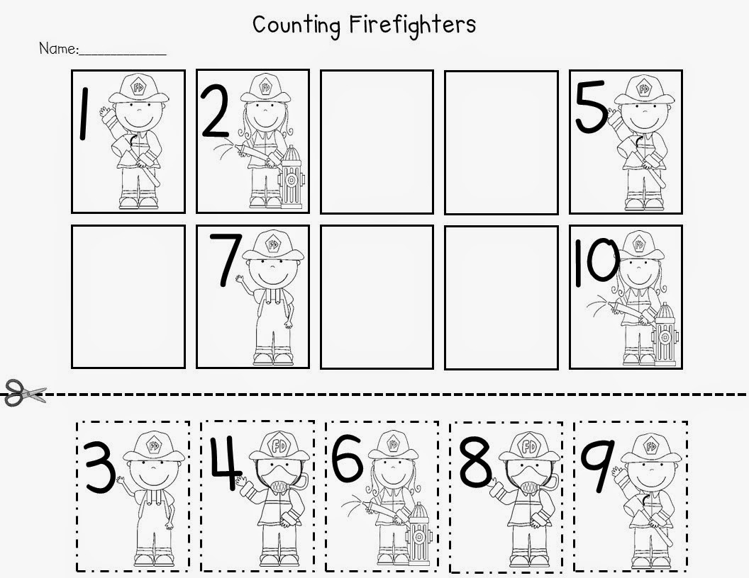 Community Helpers Worksheets