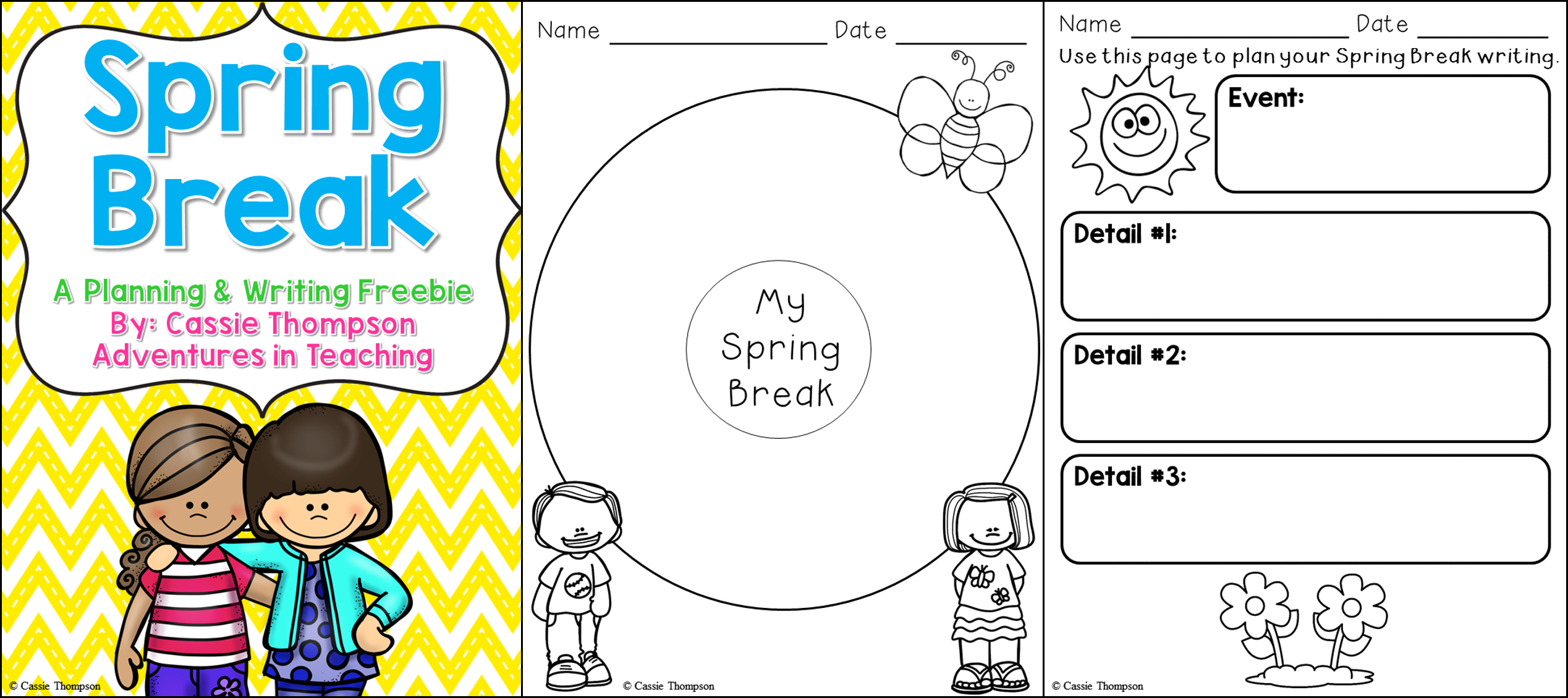Free Printable Activity Spring Maze For Kids