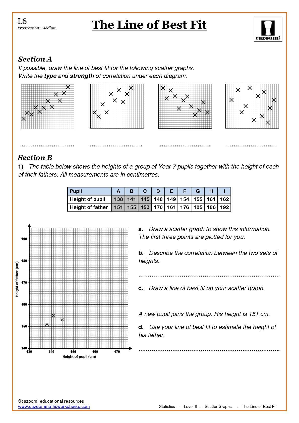 Year 7 Maths Worksheets Cazoom Revision Tes N