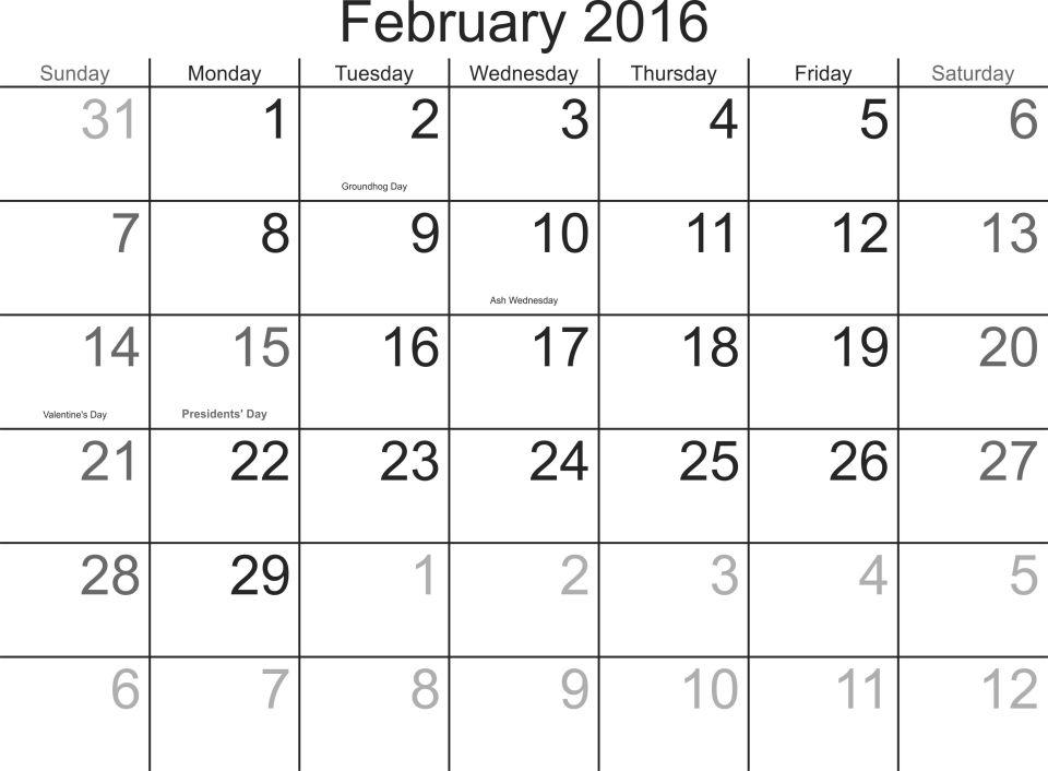 february-2016-calendar-with-holidays