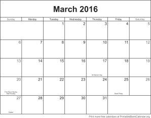 free-calendar-march-2016
