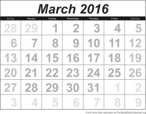 printable-calendar-march-2016