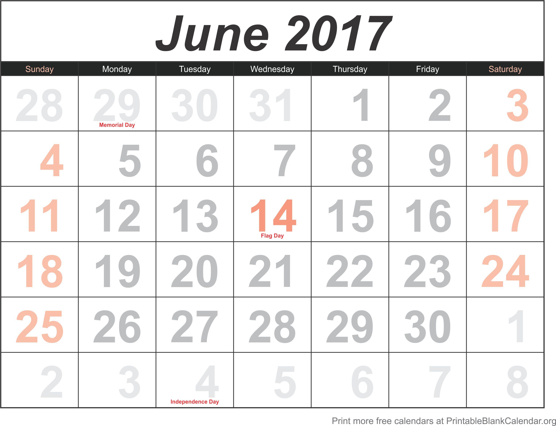 blank calendar image
