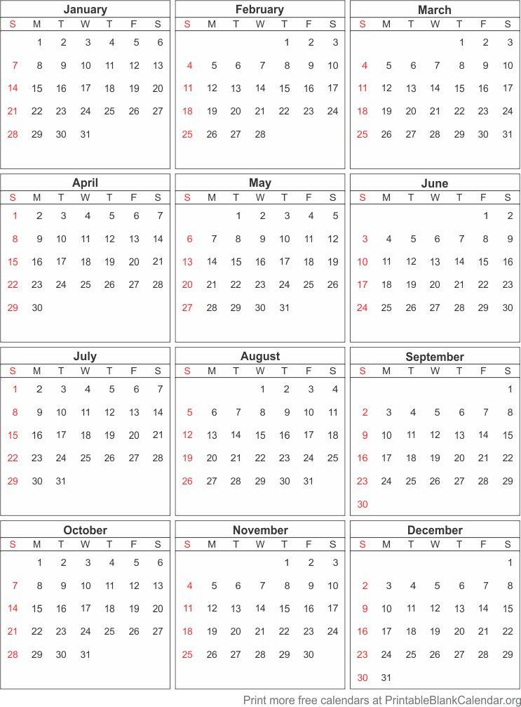 Free Printable Calendar   Printable Blank CalendarOrg