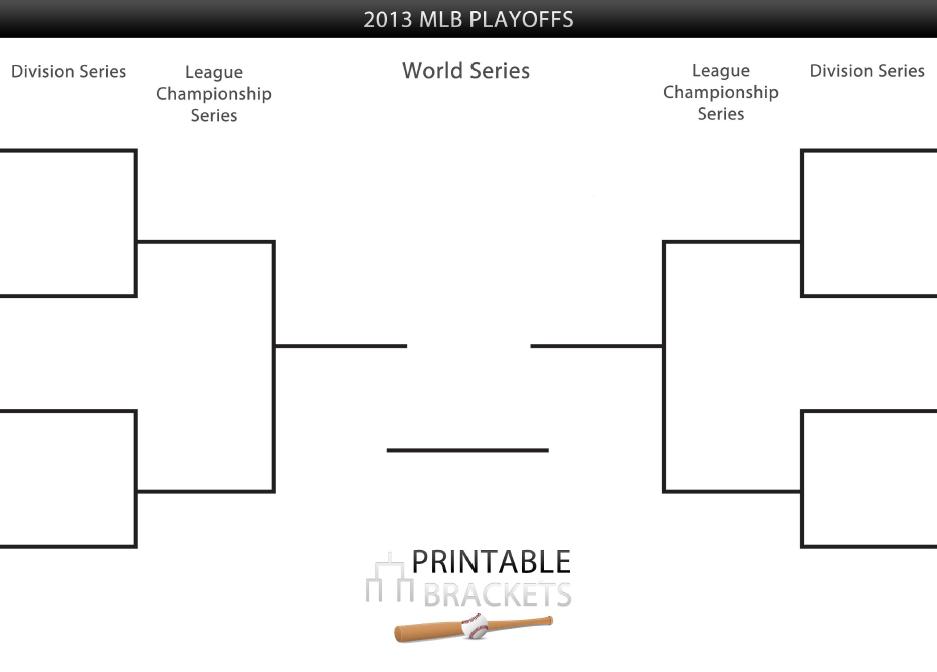 Playoff Brackets Template  16 team single elimination printable