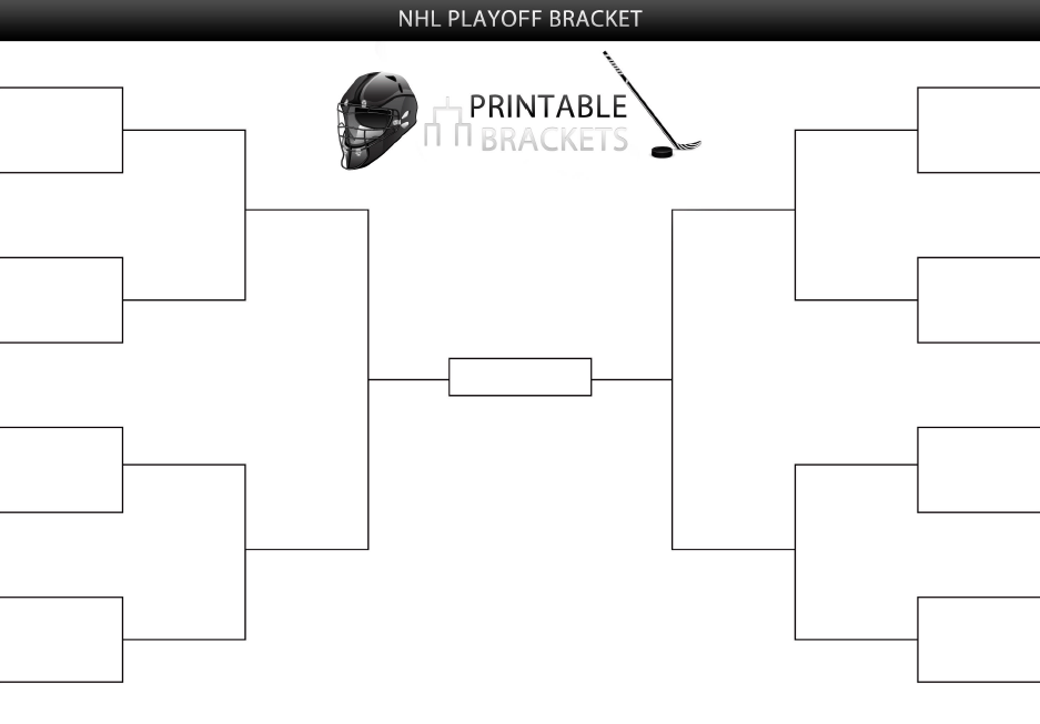 photo about Nba Playoff Bracket Printable identified as Playoff Brackets Template. 16 staff solitary removing