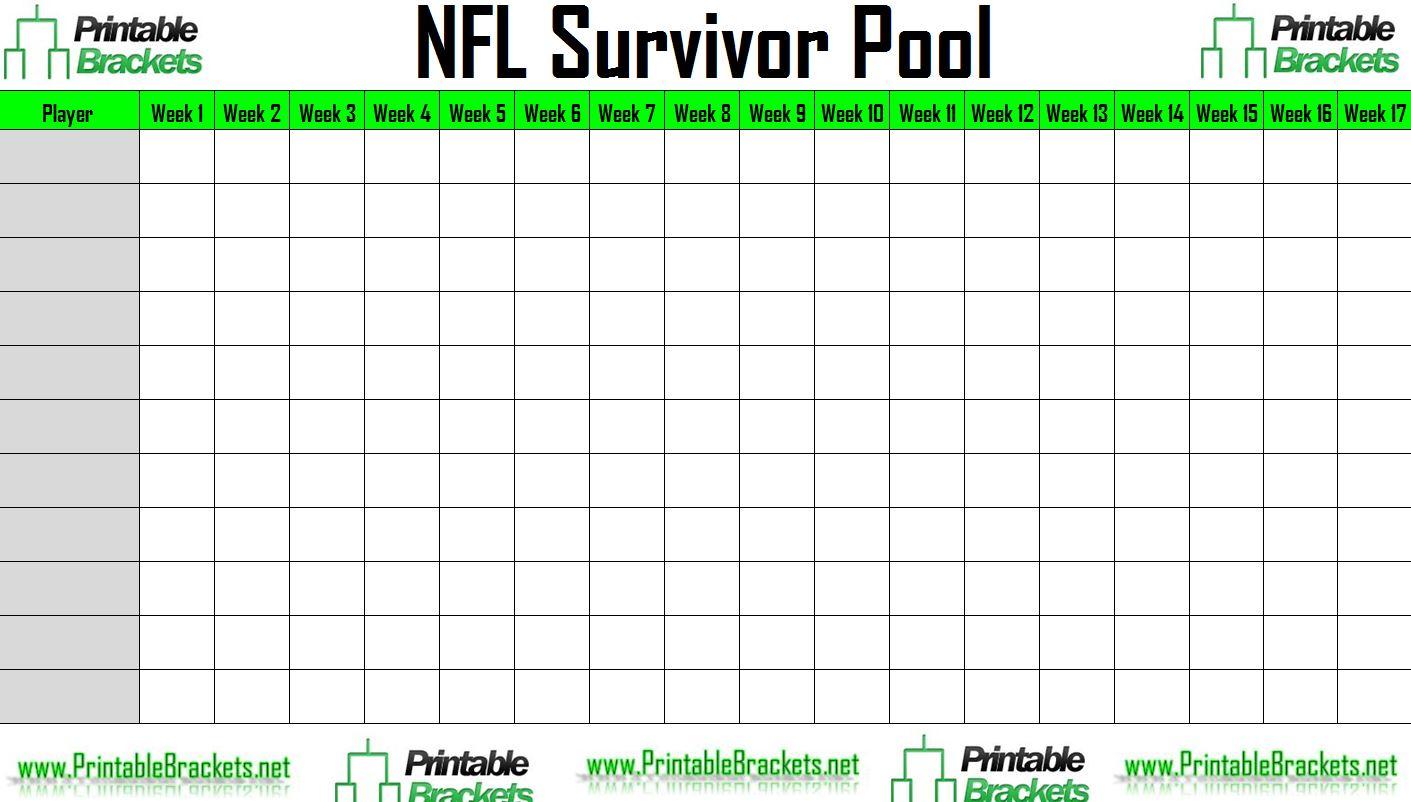 2013 Super Bowl Squares Template