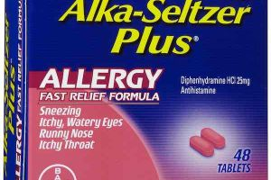 FREE Alka-Seltzer Plus Allergy at Dollar Tree!