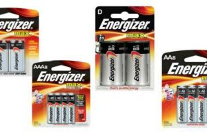 Save With $0.75 Off Energizer Batteries Coupon!