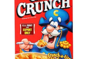 Quaker Cap'n Crunch Cereal On Sale, Only $0.50 at Family Dollar!