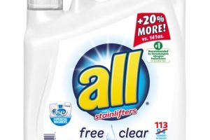 Save With $1.50 Off ALL Laundry Detergent!