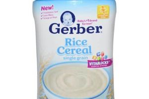 Save With $0.75 Off Gerber Cereal Products Coupon!