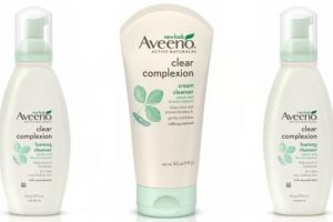 Save With $1.00 Off Aveeno Facial Cleansing Products!
