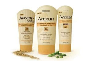 Save With $3.00 Off Aveeno Sun Products Coupon!