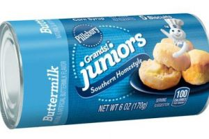 Pillsbury Grands! Juniors Biscuits On Sale, Only $0.67 at Walmart!