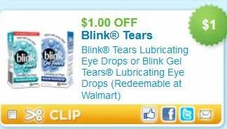 Blink Tears new