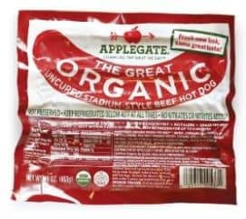Applegate hot dogs Printable Coupon