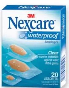 Nexcare water proof