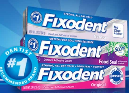 Fixodent may