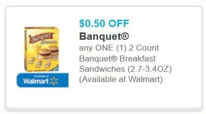 Banquet walmart