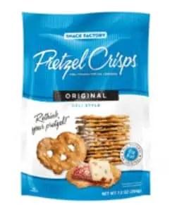 Pretzel crisps June