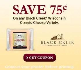 Black creek wisconsin cheese