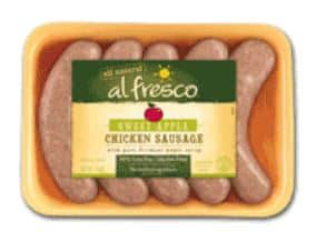 Chicken sausage July