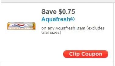 Aquafresh sept
