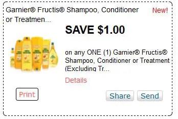 Garnier shampoo sept