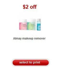 Almay makeup remover coupon