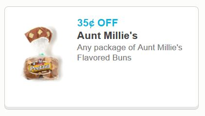 Aunt milies flavored buns