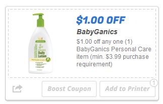 Baby ganics hopster personal care