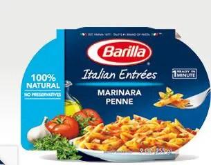 Barilla it entree