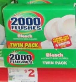 family dollar flushes