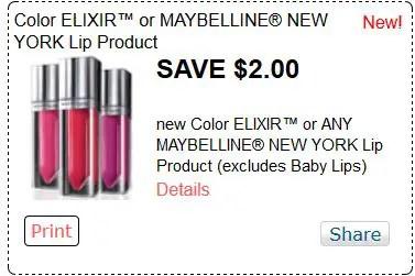 Maybelline new york red plum dec